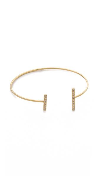 Jacquie Aiche JA Double Pave Bar Bracelet