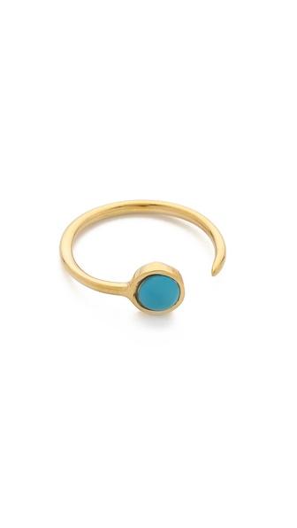 Jacquie Aiche JA Turquoise Talon Wrap Ring