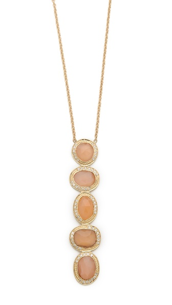 Jacquie Aiche Freeform Bezel Knuckle Necklace
