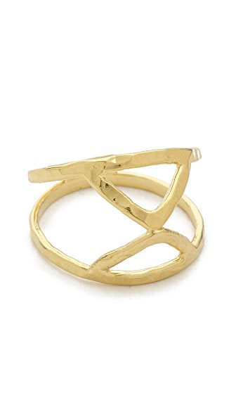 Jacquie Aiche JA Twisted V Ring