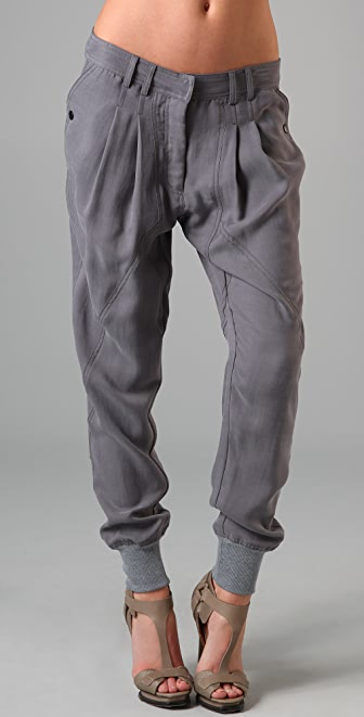 James Jeans Paneled Sweat Pants