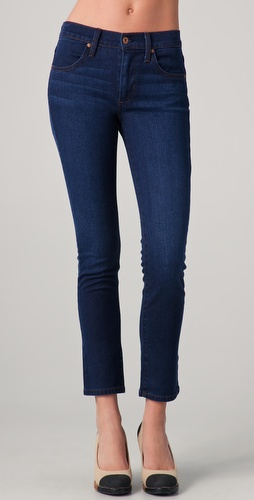 James Jeans Riley High Water Skinny Jeans