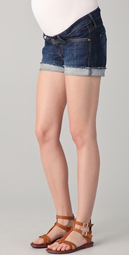 James Jeans Maternity Shorty Boyfriend Shorts