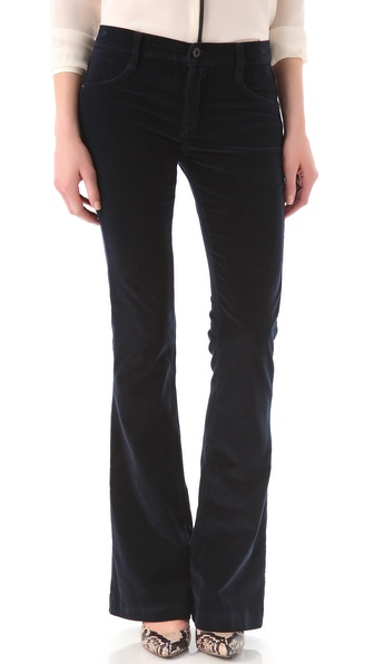James Jeans Velveteen Trumpet Flare Pants