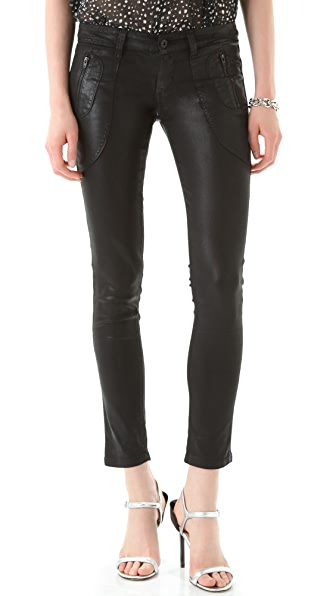 James Jeans Polo Zip Super Skinny Jeans