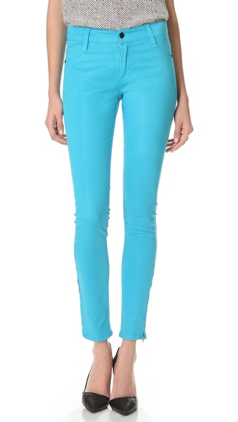 James Jeans Twiggy Coated Skinny Jeans