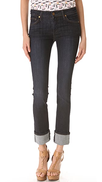 James Jeans Mid Rise Wonder Straight Jeans