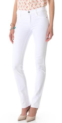 James Jeans High Rise Straight Leg Jeans