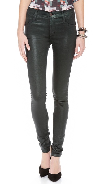 James Jeans Twiggy Coated Legging Jeans