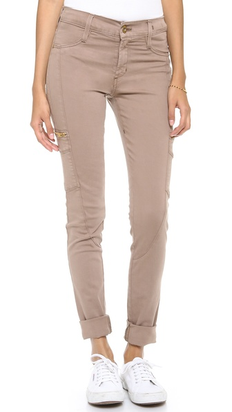 James Jeans Twiggy Racer Zip Pocket Skinny Jeans