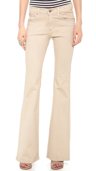 James Jeans Bella Perfect Fit And Flare Jeans - Tahiti