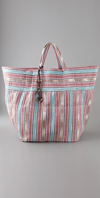 JADEtribe Samui Stripe Beach Bag