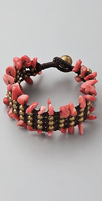 JADEtribe Beaded Stone Bracelet