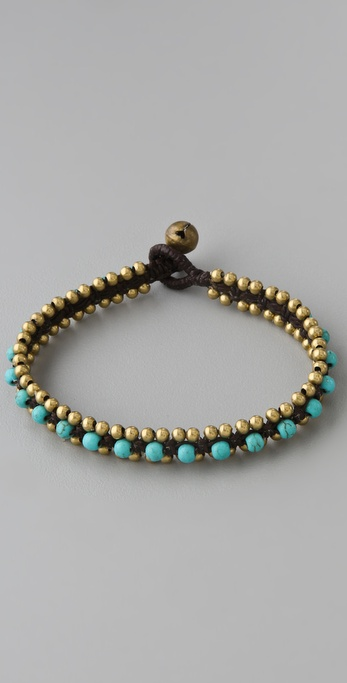 JADEtribe Beaded Stone Bracelet
