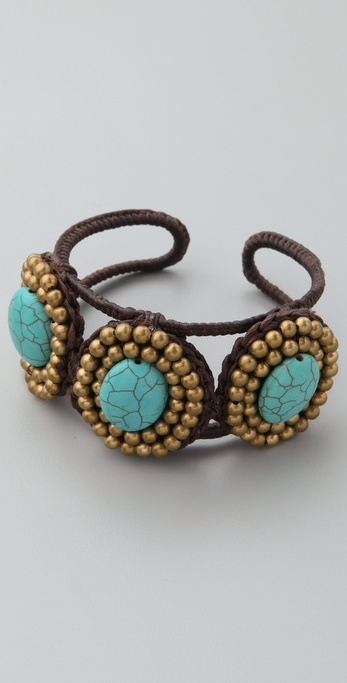 JADEtribe Medallion Cuff