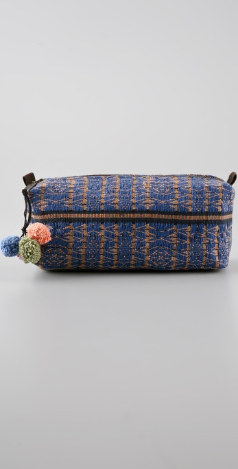 JADEtribe Nina Pom Pom Cosmetic Bag