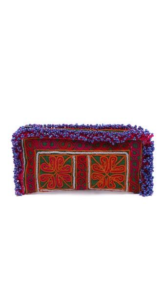 JADEtribe Afghan Clutch