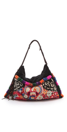 JADEtribe Nali Antique Hobo at Shopbop.com