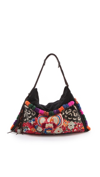 JADEtribe Nali Antique Hobo