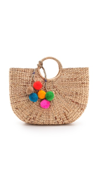 JADEtribe Large Beach Basket Tote
