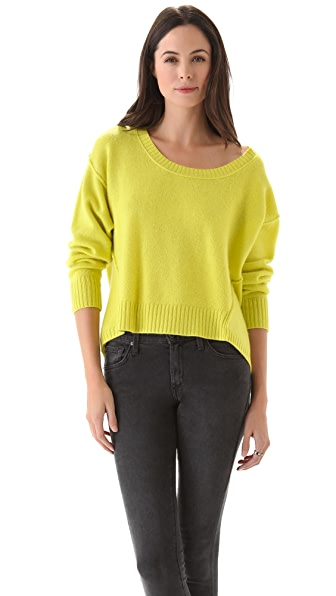 Jamison Logan Cropped Sweater