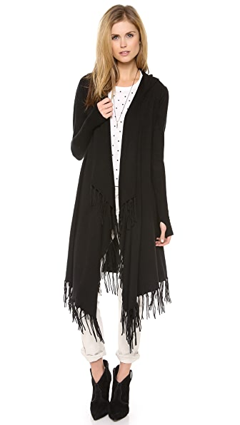 Jamison Fringed Open Cardigan