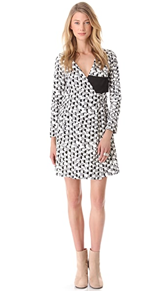 J.W. Anderson Buckle Wrap Dress
