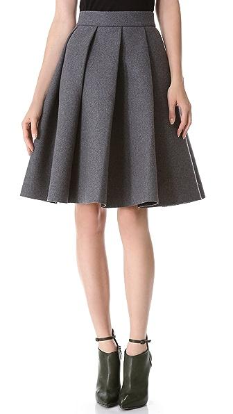 J.W. Anderson Ten Pleat Skirt
