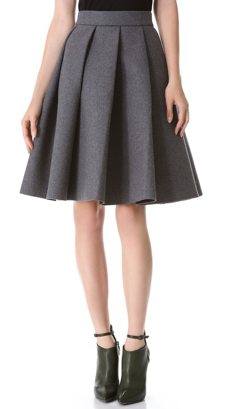 J.W. Anderson Ten Pleat Skirt