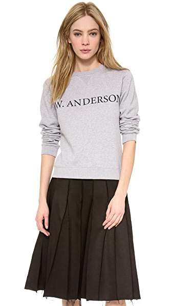 J.W. Anderson Long Sleeve Sweatshirt