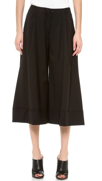 J.W. Anderson Cropped Wool Trousers