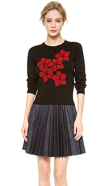 J.W. Anderson Floral Embroidery Sweater