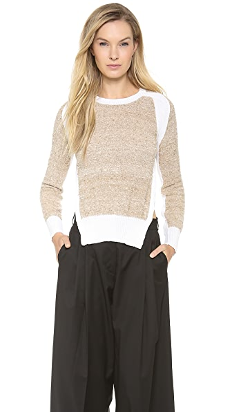 J.W. Anderson Slit Crewneck Sweater
