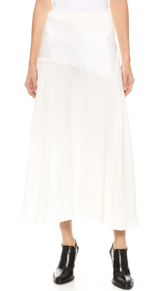 J.W. Anderson Satin Insert Skirt