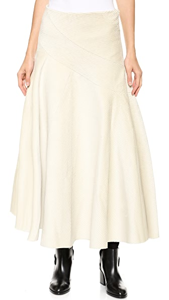 J.W. Anderson Spiral Skirt