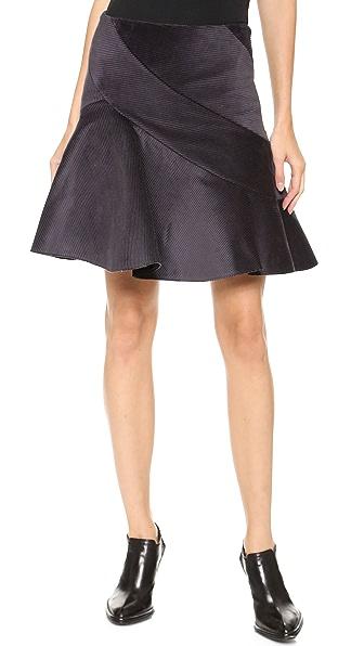 J.W. Anderson Spiral Miniskirt