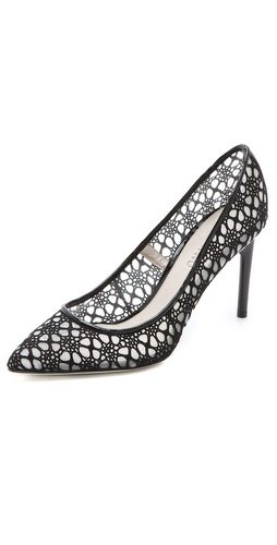 Jason Wu Sigrid Lace Mesh Pumps at Shopbop.com