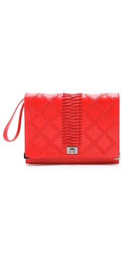 Jason Wu Jourdan Wristlet Quilted Clutch at Shopbop / East Dane