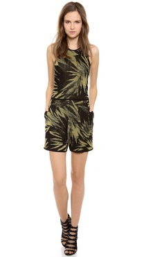 Jason Wu Botanical Knit Romper