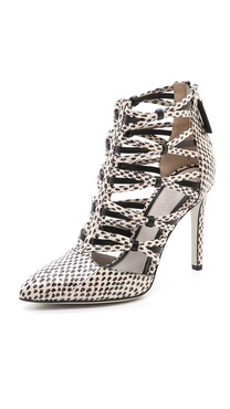 Jason Wu Strappy Snakeskin Booties