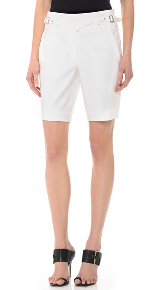 Jason Wu Canvas Utility Shorts