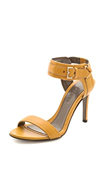 Jason Wu Leather Buckle Sandals