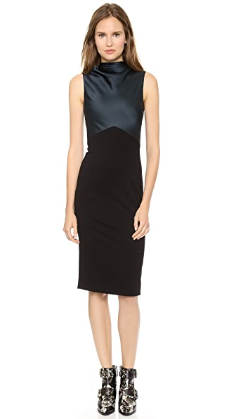 Jason Wu Drape Neck Sheath Dress