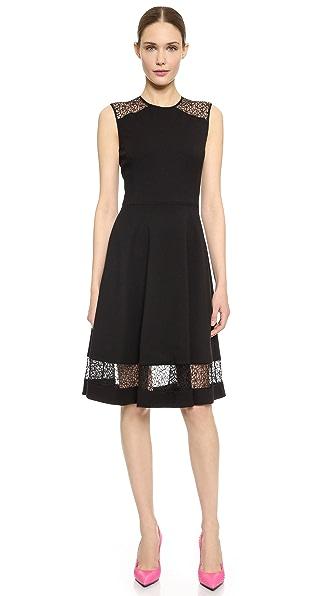 Kupi Jason Wu haljinu online i raspordaja za kupiti Jason Wu Flounce Hem Dress Black online