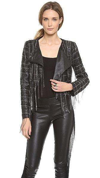 Jay Ahr Asymmetrical Chain Jacket