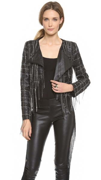 Jay Ahr Asymmetrical Chain Jacket