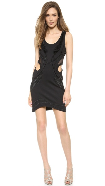 Jay Ahr Cut Out Dress