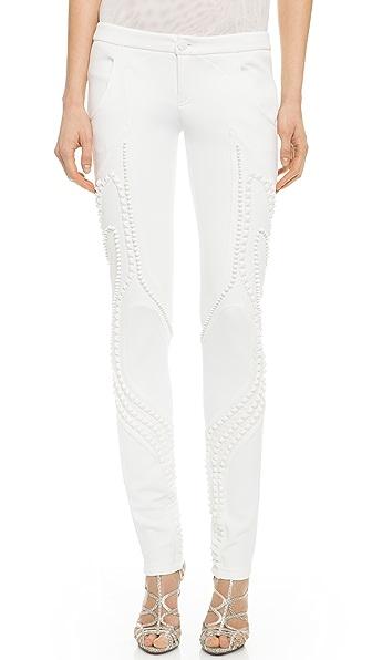 Jay Ahr Embellished Skinny Pants