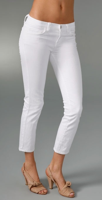J Brand Cropped Stretch Jeans