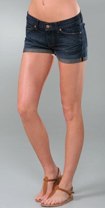 J Brand Cuffed Short Shorts